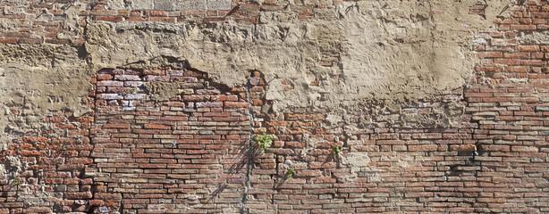 alte Ziegelmauer