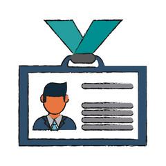 ID card vector illustration