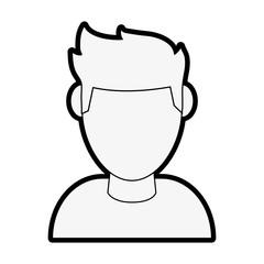 man avatar vector illustration