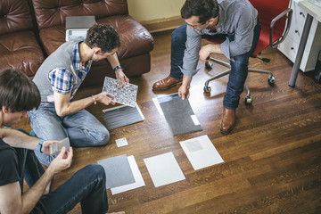 Home-Based Small Business Start-up among Friends Working Together in Design Field