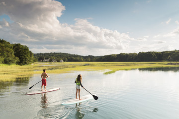 Father Daughter Paddle