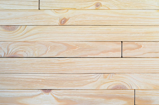 Natural wood plank natural not finished texture background