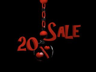 Love Sale 20%