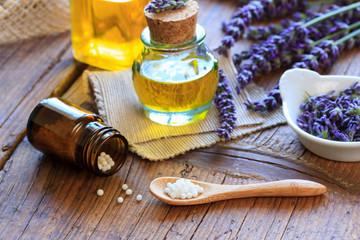 Naturmedizin mit Lavendel