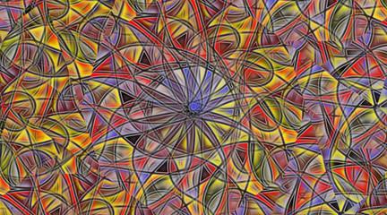 arte astratta computerizzata