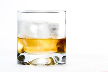 scotch served on the rocks