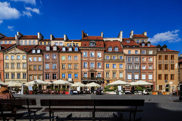 City of Warsaw, Old Town, Poland