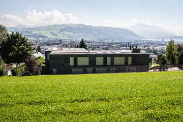 Die Villa Butterfly von Kimi Raikonen in der Schweiz