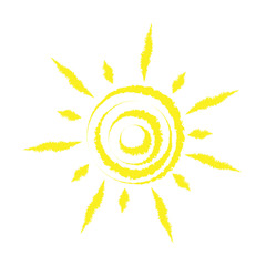Sun, vector
