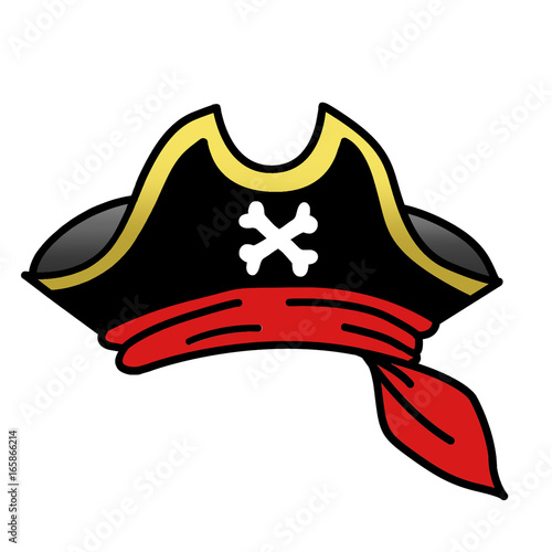 digitally illustrated pirate hat clipart stock photo and royalty rh fotolia com Cute Pirate Clip Art pirate hat clip art free