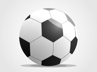 football soccer ball futsal spots vector
