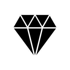 diamond icon isolated vector