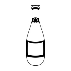 champagne bottle icon image