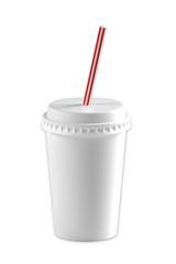 Paper Cup 3d illustration