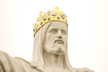 Christ the King monument in Swiebodzin, Poland