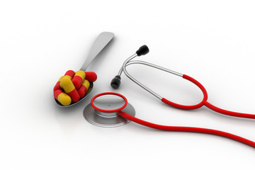 Stethoscope with capsules