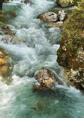 Tolminska Korita - Tolmin Gorge. Slovenia