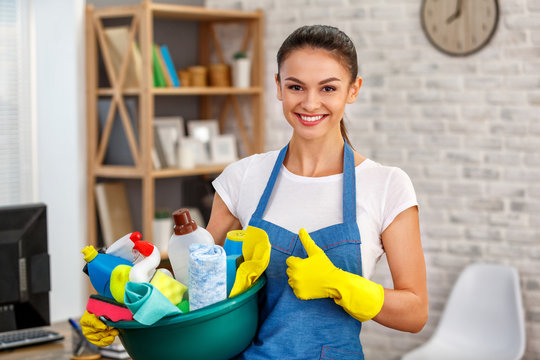 Concept for home cleaning services