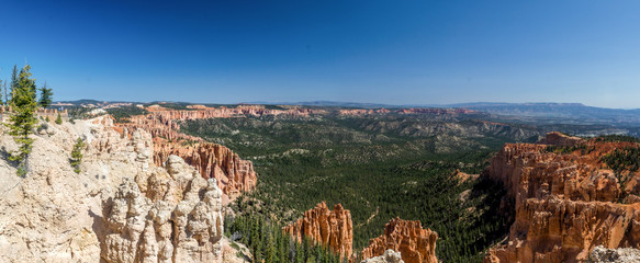 Aussicht im Bryce Canyon National Park, Utah