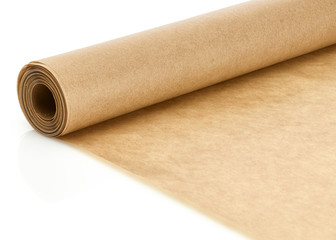 Rolle Backpapier close-up