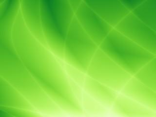 Bright green template illustration modern leaf background