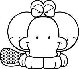 Cartoon Devious Platypus