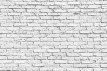 White Brick Wall Texture . Empty Abstract Background for Presentations and Web Design. A Lot of Space for Text Composition art image, website, magazine or graphic for commercial campaign
