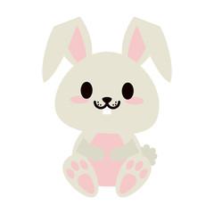 cute animal cartoon icon image