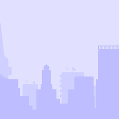 Simple city background