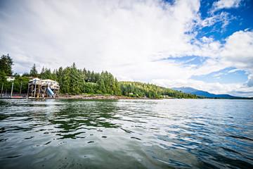 boat marina near juneau alaska