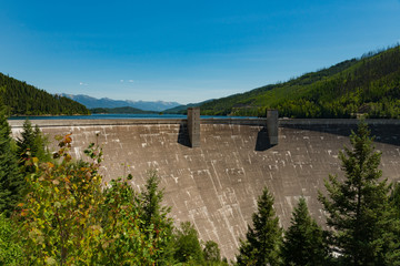 Hungry Horse Dam in Montana