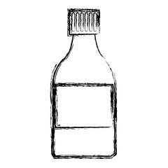 medicine bottle icon health care product