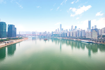 Chaotianmen Chongqing Jialing River