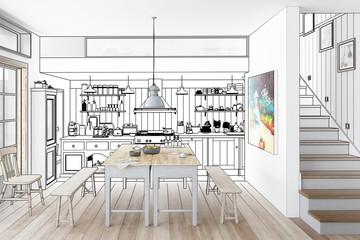 Küche: aus alt mach neu (Konzept)