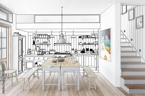 Küche: aus alt mach neu (Konzept)\