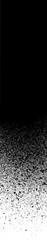 graffiti high detail gradient in black over white