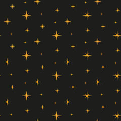 Stars. Seamless pattern