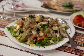Chicken Salad Dish