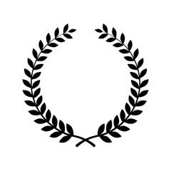 Laurel wreath vector design