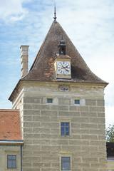 Schlossturm mit Uhr
