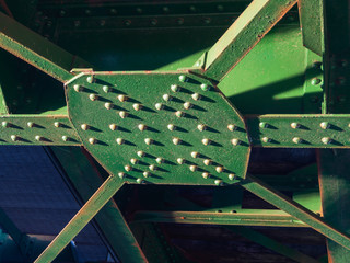Iron rail bridge