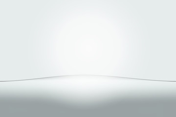abstract white gray background empty room vector