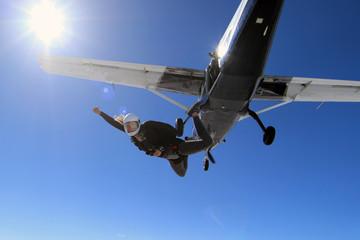 Foto op Aluminium Luchtsport Skydiving in Norway