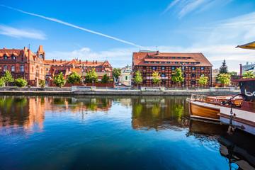 Obraz Stare Miasto i spichlerze w Bydgoszczy - fototapety do salonu