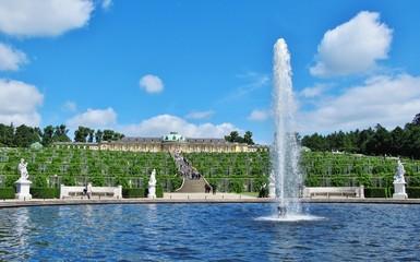 Springbrunnen, Potsdam, Schloss Sanssouci