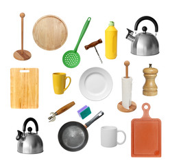 Kitchen tools set.