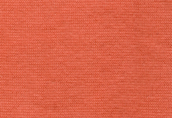 Stretch Viscose Fabric. Coral color texture backdrop high resolution
