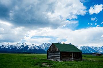 Abandoned Houses in Grand Teton National Park