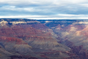 Dramatic View Of The Grand Canyon South Rim stock photos
