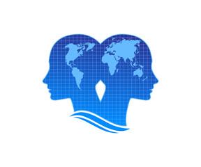 human brain as aworld map